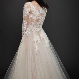 Lazaro bridal gown. Style - 3762.